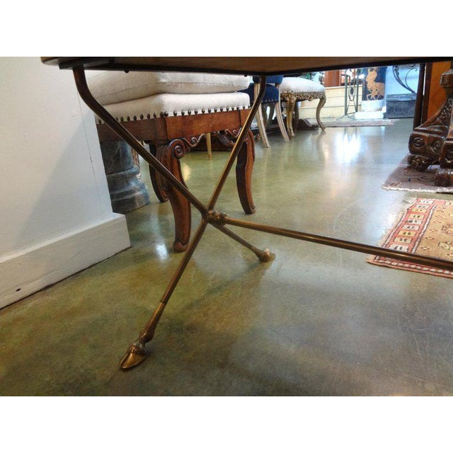 Maison Baguès 1940s French Rectangular Bronze Cocktail Table For Sale - Image 4 of 9