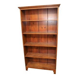 The Shaker Shop Hand Made Country Pine Bookshelf For Sale