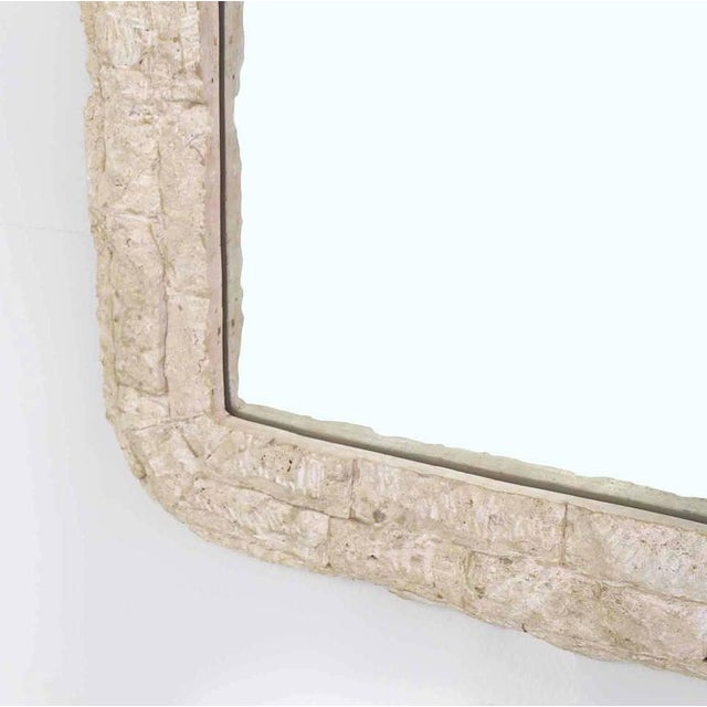Crushed Rock Tile Console Table with Mirror For Sale - Image 9 of 9