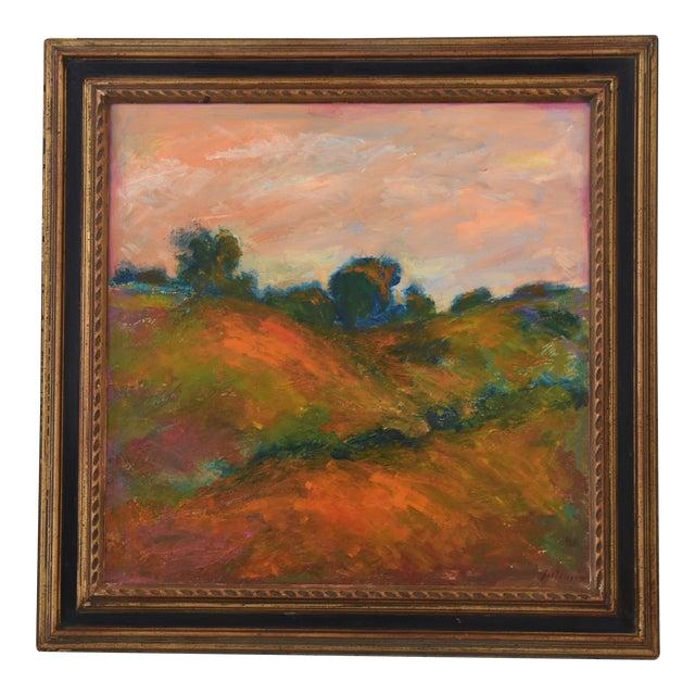 Large Original Juan Pepe Guzman, Ojai California Oil Painting For Sale