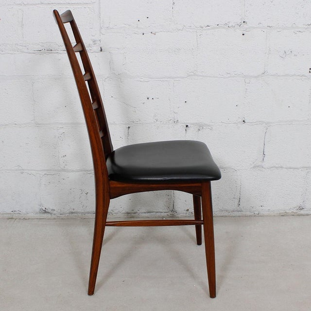 Koefoed Hornslet Danish Modern Rosewood Dining Chairs - Set of 6 For Sale - Image 7 of 10