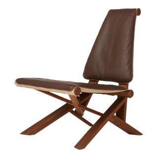 "Pierre Chapo ""Dromadaire"" Lounge Chair"
