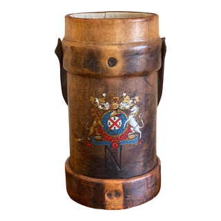 British Royal Navy Shot Bucket For Sale