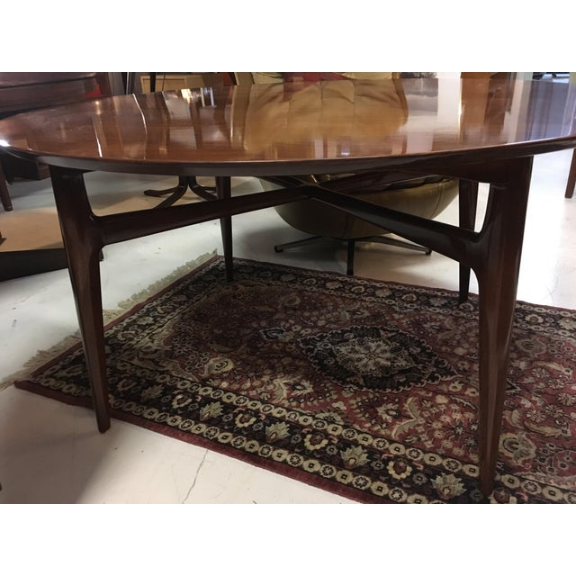 Mahogany Mid-Century Cocktail Table For Sale - Image 10 of 12