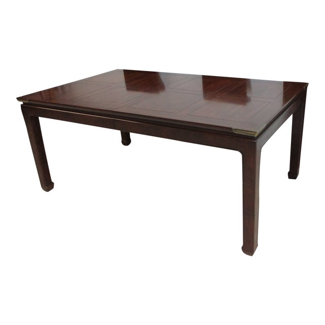 Chippendale Henredon Pan Asian Dining Room Conference Table For Sale