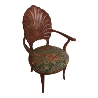Vintage Thomasville Grotto Shell Arm Chair