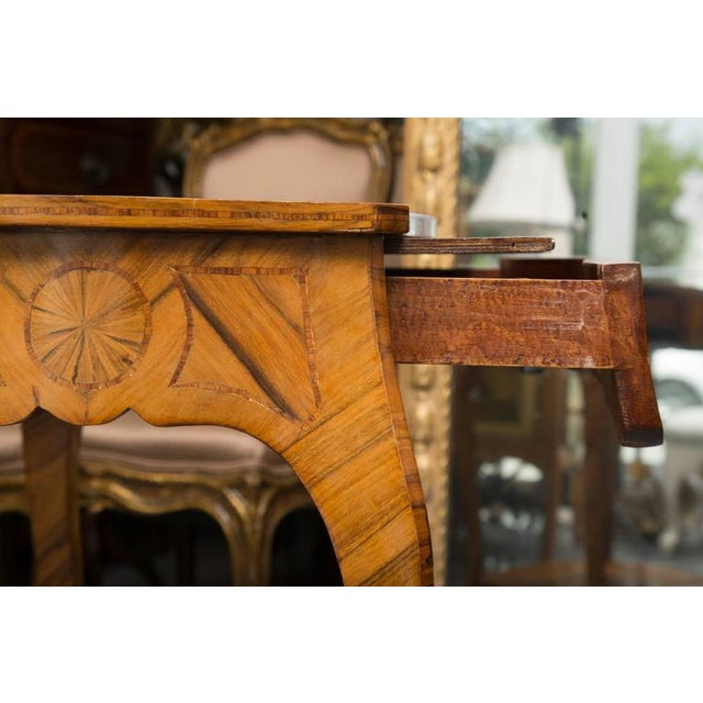 19th Century, Louis XV Style Kingwood Two-Tier Occasional Table For Sale - Image 4 of 7