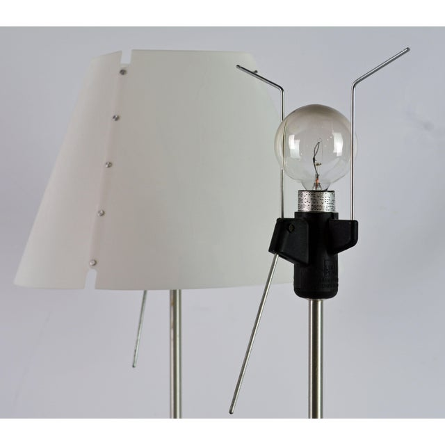 Minimalism Vintage Paolo Rizzato Luceplan 'Costanza' Table Lamps - a Pair For Sale - Image 3 of 10