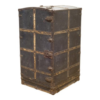 Large Antique Mendel Drucker Trunk C.1920 For Sale
