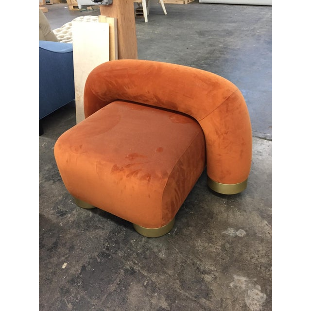 Modern Modern Twist Lounge Chair For Sale - Image 3 of 5