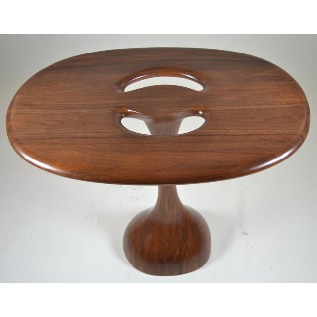 Signed Kovach Carved Wood Table - Image 4 of 10