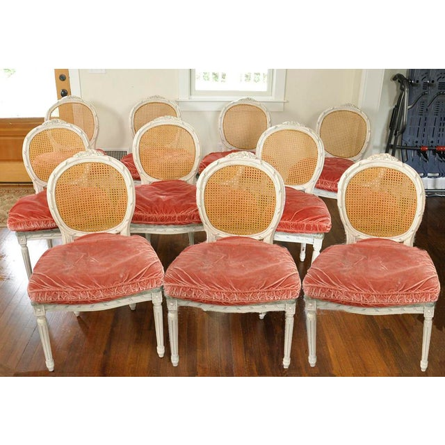 Vintage Side Chairs - Set of 10 For Sale - Image 10 of 10