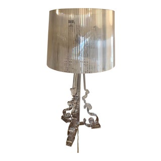 Kartell Bourgie Lamp in Crystal by Ferruccio Laviani For Sale