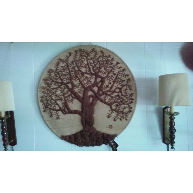 'Tree of Life' Textile Art - Image 2 of 4