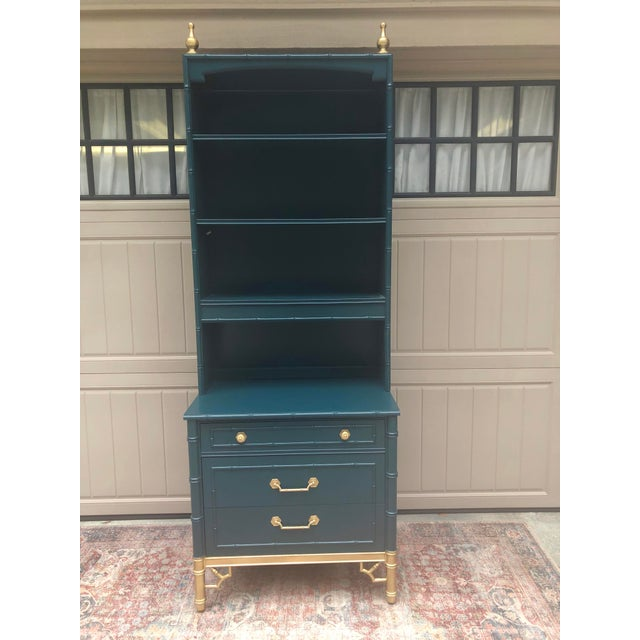 Vintage Thomasville Bachelors Chest With Shelf For Sale - Image 11 of 11