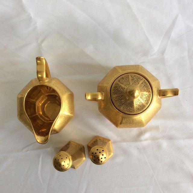 Gold Embossed Bavarian Tableware - Image 3 of 5