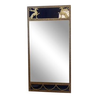 Early 20th Century Antique Art Deco Mirror For Sale