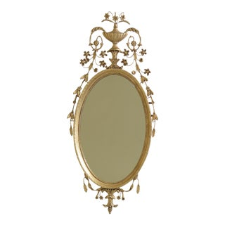 Friedman Brothers Colonial Williamsburg Adam Style Mirror For Sale
