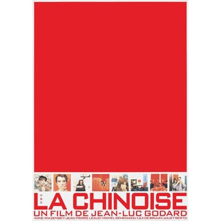 La Chinoise R1990s Japanese B1 Film Poster For Sale