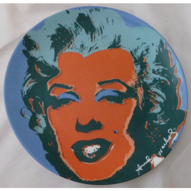 Andy Warhol Marilyn Monroe Dinner Plates - Set of 5 For Sale In Boston - Image 6 of 11