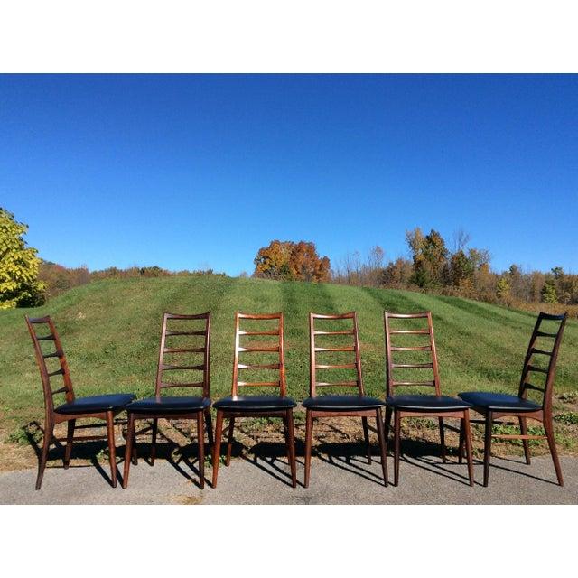Niels Koefoed Rosewood & Teak Chairs - Set of 6 - Image 2 of 10