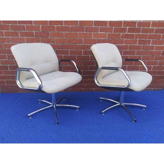 Steelcase 1980's Vintage Steelcase Chair For Sale - Image 4 of 12