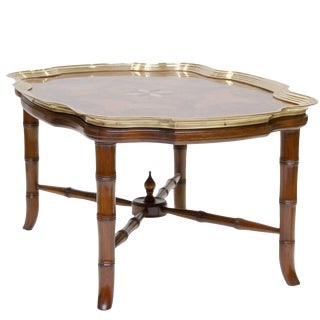 20th Century Traditional Mahogany Coffee Table For Sale