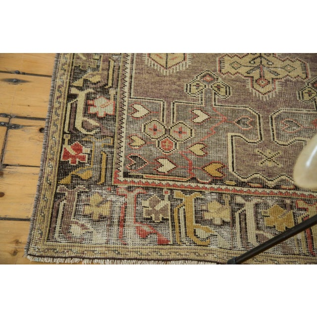 "Vintage Distressed Oushak Runner - 3'8"" X 6'10"" - Image 5 of 10"
