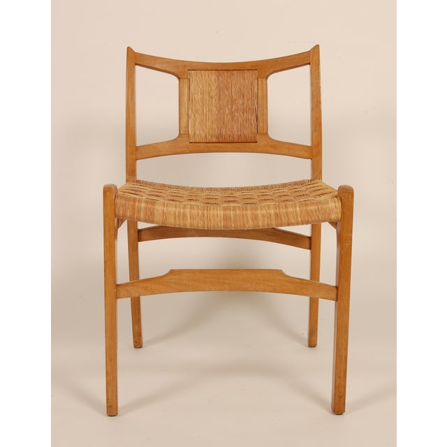 Tan Edmond Spence Side Chair for Industria Mueblera For Sale - Image 8 of 8