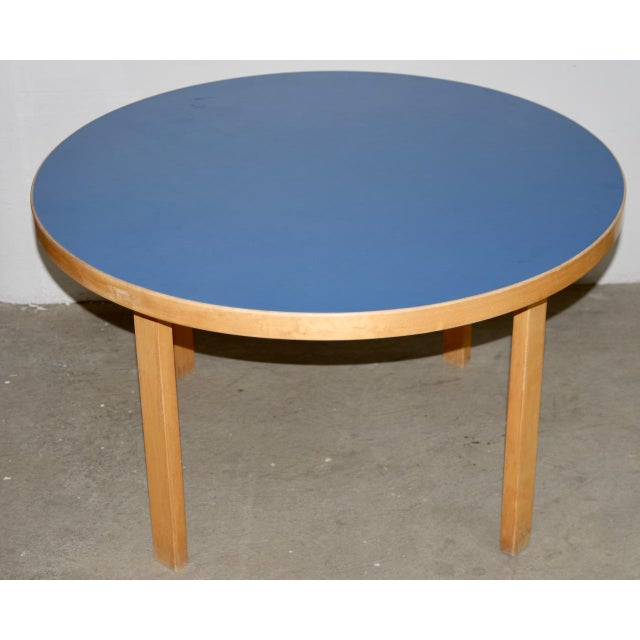 1930s Vintage Alvar Aalto Children's Table & Chairs - Set of 4 For Sale In San Francisco - Image 6 of 9