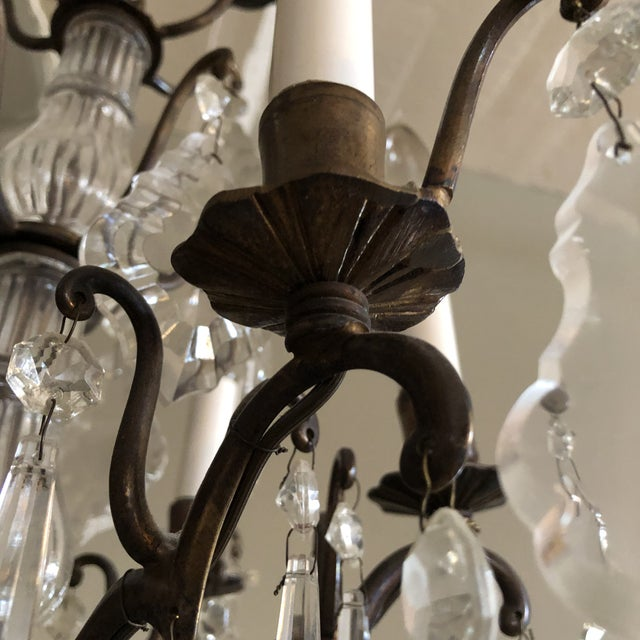 Vintage Petite Marie Therese Crystal Chandelier For Sale - Image 4 of 9
