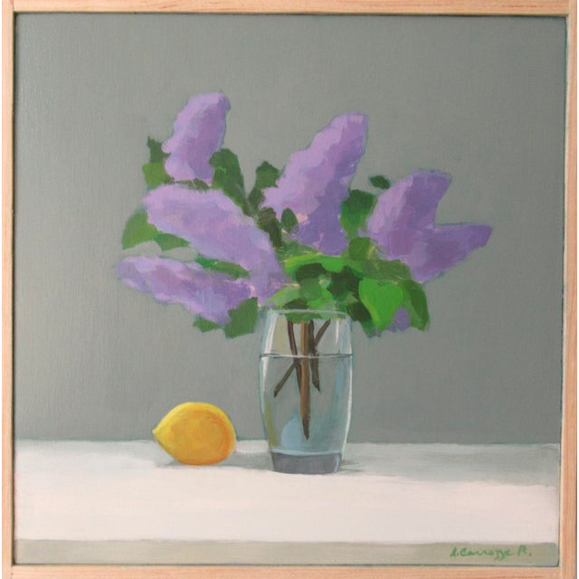 The lilacs are from my garden. The lilac flower has many meanings, but most are related to expressing love or affection....