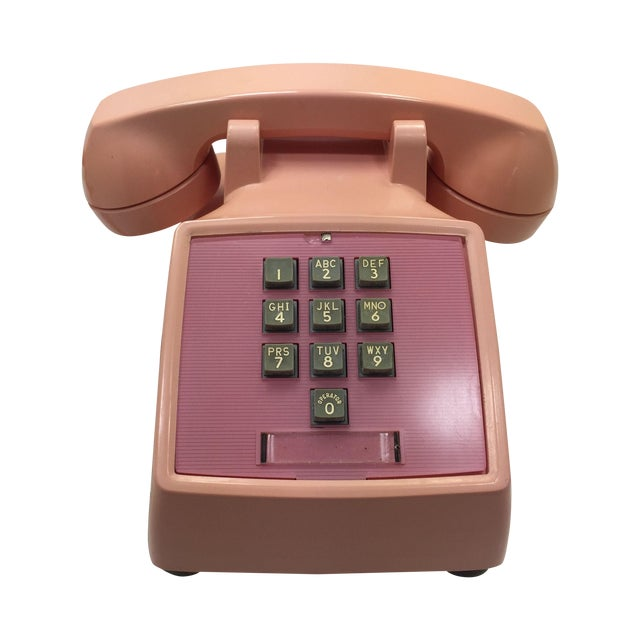 Western Electric 1960s Pink 1500 Telephone - Image 1 of 8