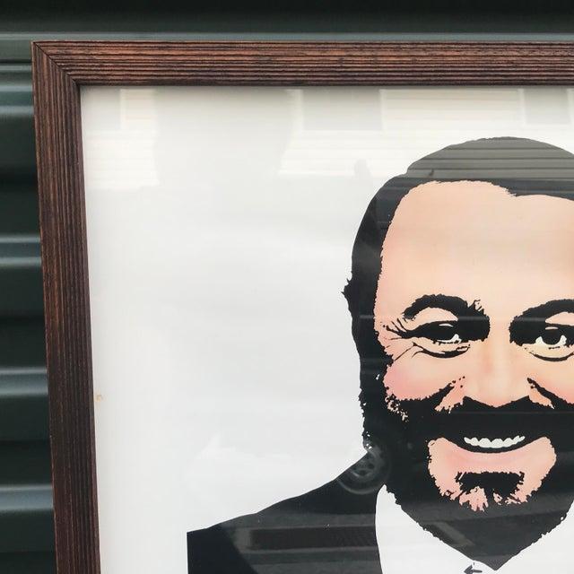 Cool original vintage Pavarotti at Resorts International concert poster circa 1983!