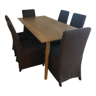 Danish Modern Hd Buttercup Dining Set - 7 Pieces For Sale