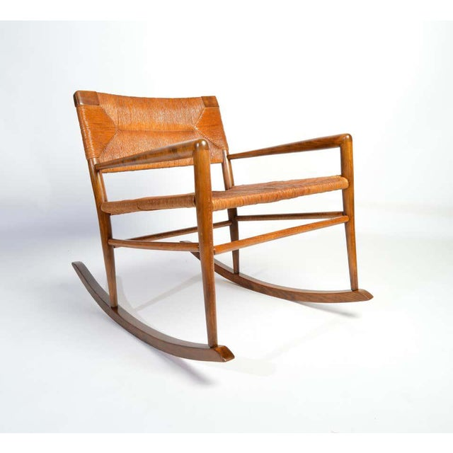 Mid-Century Modern Custom Mel Smilow Rocker-One of a Handful Produced by Smilow Designs, 1956 For Sale - Image 3 of 9