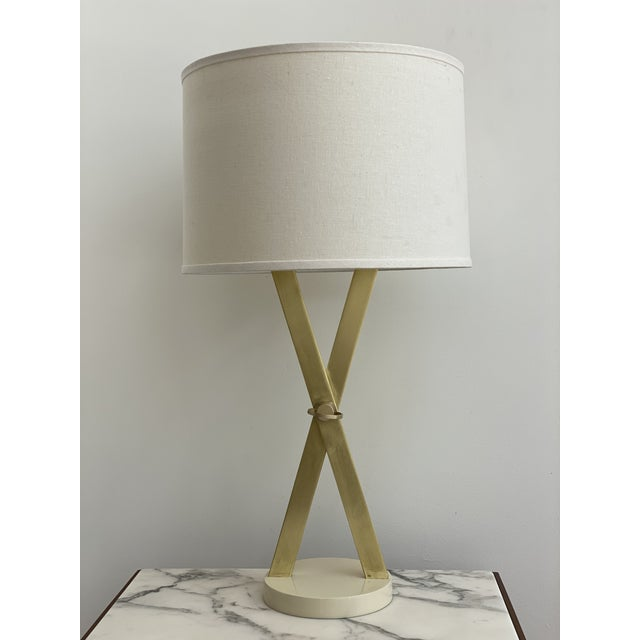 1960's X-Base Table Lamp by Laurel For Sale - Image 10 of 13
