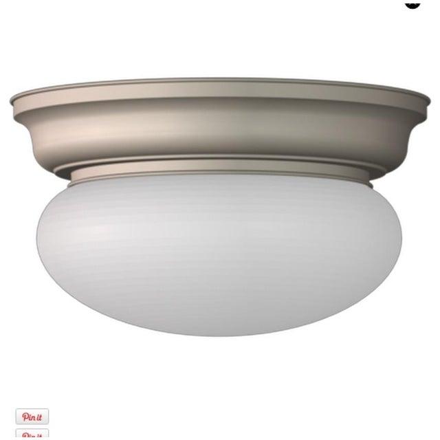 Classic Flush Ceiling Fixture - Image 2 of 2