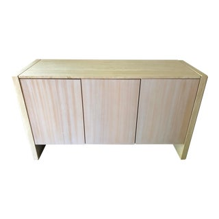 Vintage Italian Travertine Credenza Buffet For Sale