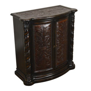 Hooker Furniture Co. Seven Seas Collection Embossed Design Console For Sale