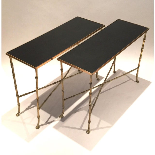 Pair Of Bamboo Tables - Image 4 of 5