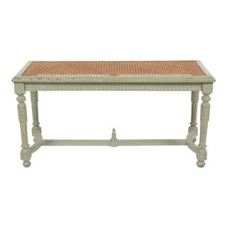Antique Louis XVI Style Painted Bench