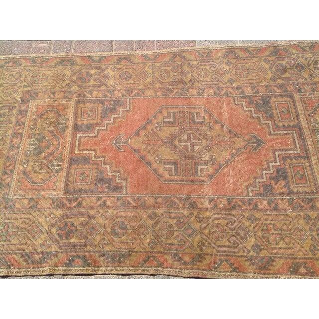 Vintage Anatolian Rug - 3′4″ × 6′1″ For Sale - Image 4 of 7