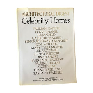 Architectural Digest Book: Celebrity Homes, 1st Ed For Sale