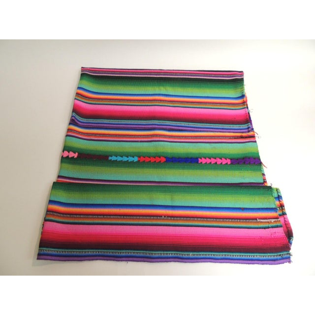 Guatemalan Woven Multi Color Throw - Image 2 of 3