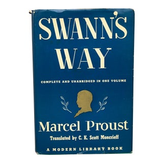 Vintage French Literature Swann's Way by Marcel Proust For Sale