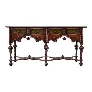 English Chinoiserie Sideboard/Credenza For Sale