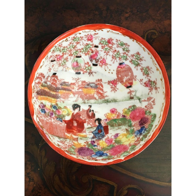 1950's Chinoiserie Porcelain Bowl - Image 2 of 2