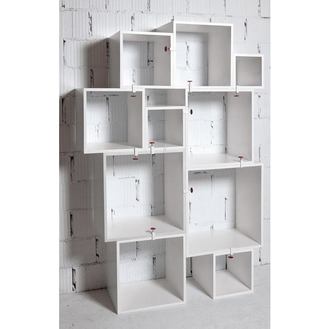 Paint Modern Seletti Assemblage Modular Storage Unit For Sale - Image 7 of 7