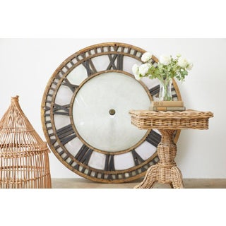 19th Century French Iron and Milk Glass Clock Face Preview